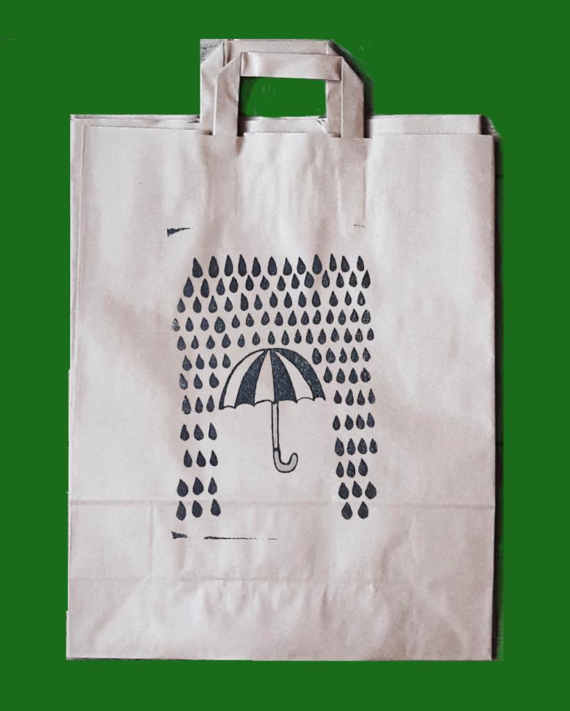 Grote Papieren Tas : Grote stempel voor papieren tas een laten maken