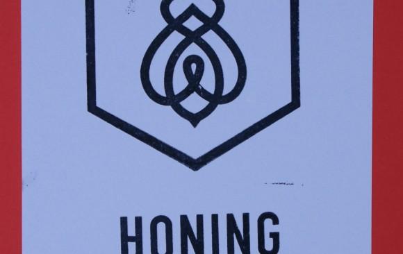 logo stempel honing goed