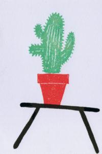 kaktus_meerkleuren_stempel