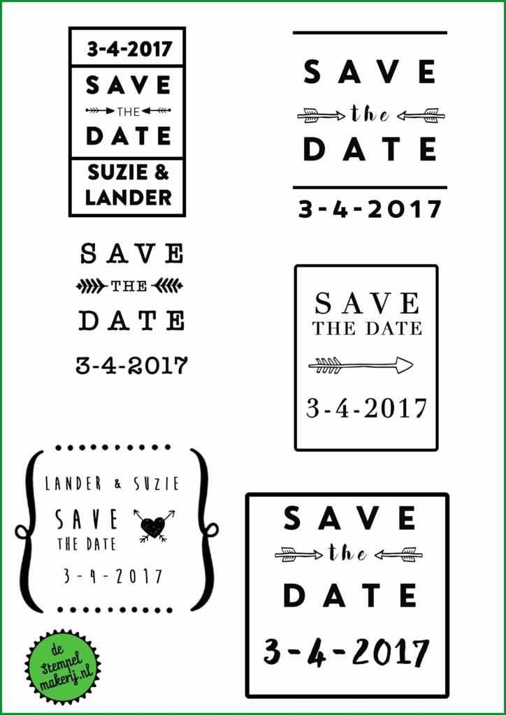 save the date-stempel-laten-maken