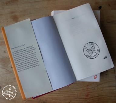 ex libris stempel vlinder