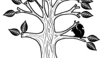 boom geboortekaartje stempel gepersonaliseerd kaartje