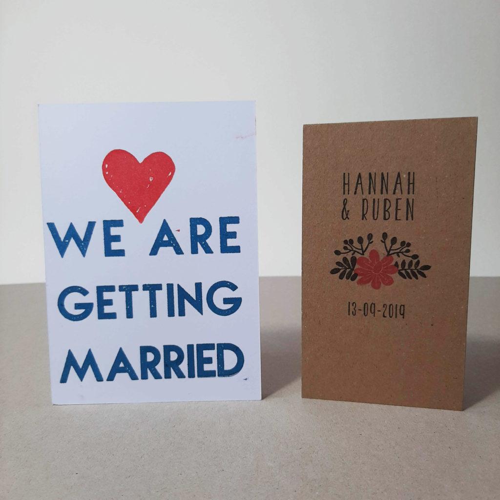 stempel voor je bruiloft laten maken
