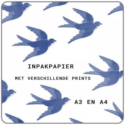 inpakpapier stempel
