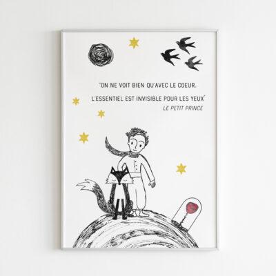 Poster kleine prins